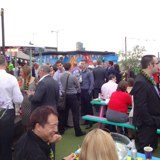 Summer party venues London, Queen of Hoxton, Outdoor venues London, Pubs in London
