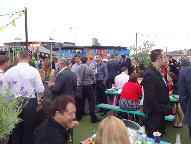 Summer parties London, things to do in London, venues for a roof party or outdoor party in London,