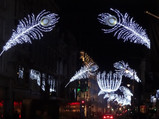 Christmas shopping in London, Christmas lights in London, Christmas shopping New Bond Street,
