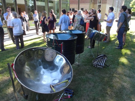 Steel bands London Hire, steel pan bands London, background music for party, big sand steel band,