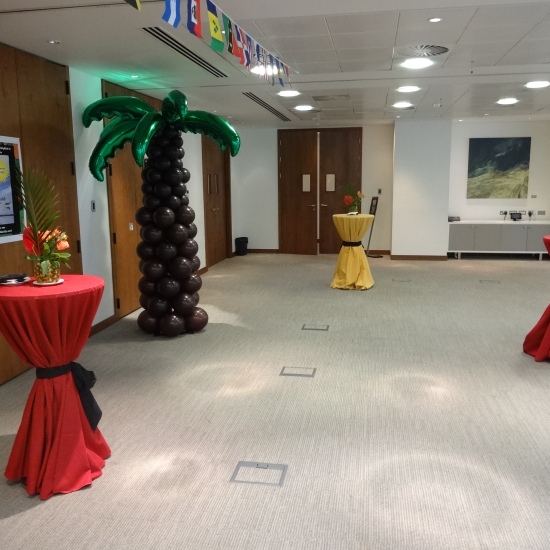 Entertainment for Office parties, music for office party London, steel band for office party,